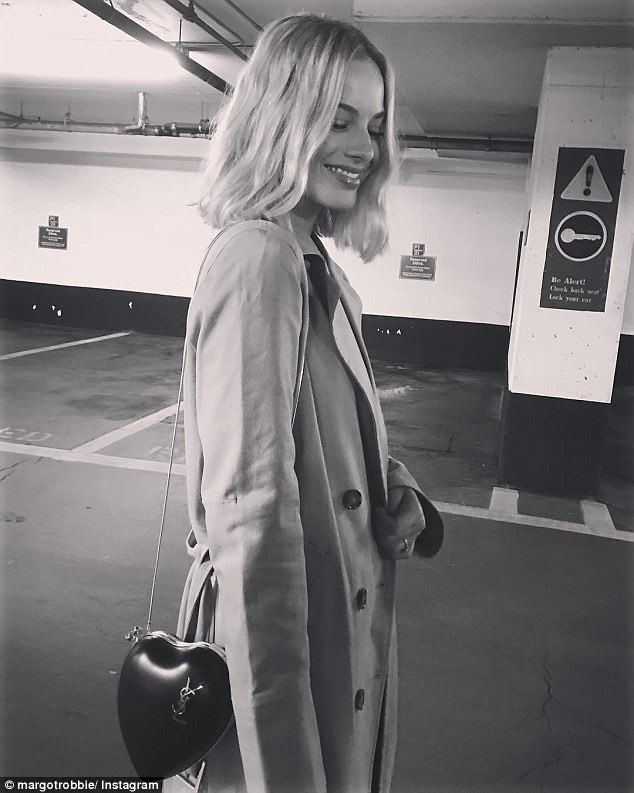 Nice bag! The blonde looked equally stunning in a rare snap shared on her Instagram last week posing with a stylish heart-shaped Yves Saint Laurent handbag worth thousands of dollars