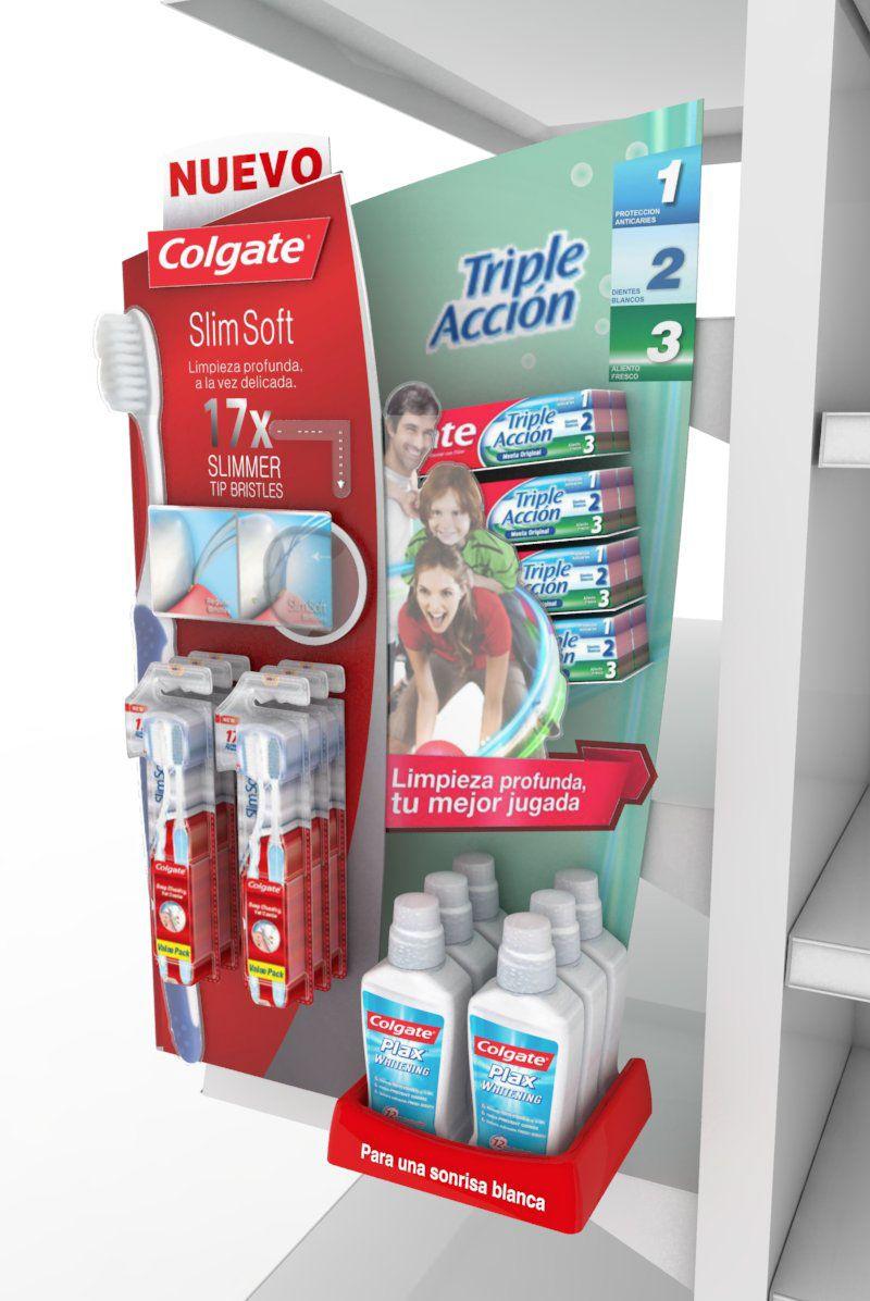 Colgate Slimsoft On Behance Colgate Pop Display Point Of Purchase