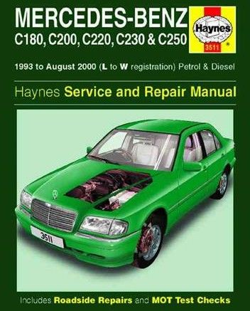 Attractive Free Download Mercedes Benz C Class W202 1993 2000 Repair Manual PDF Scr1