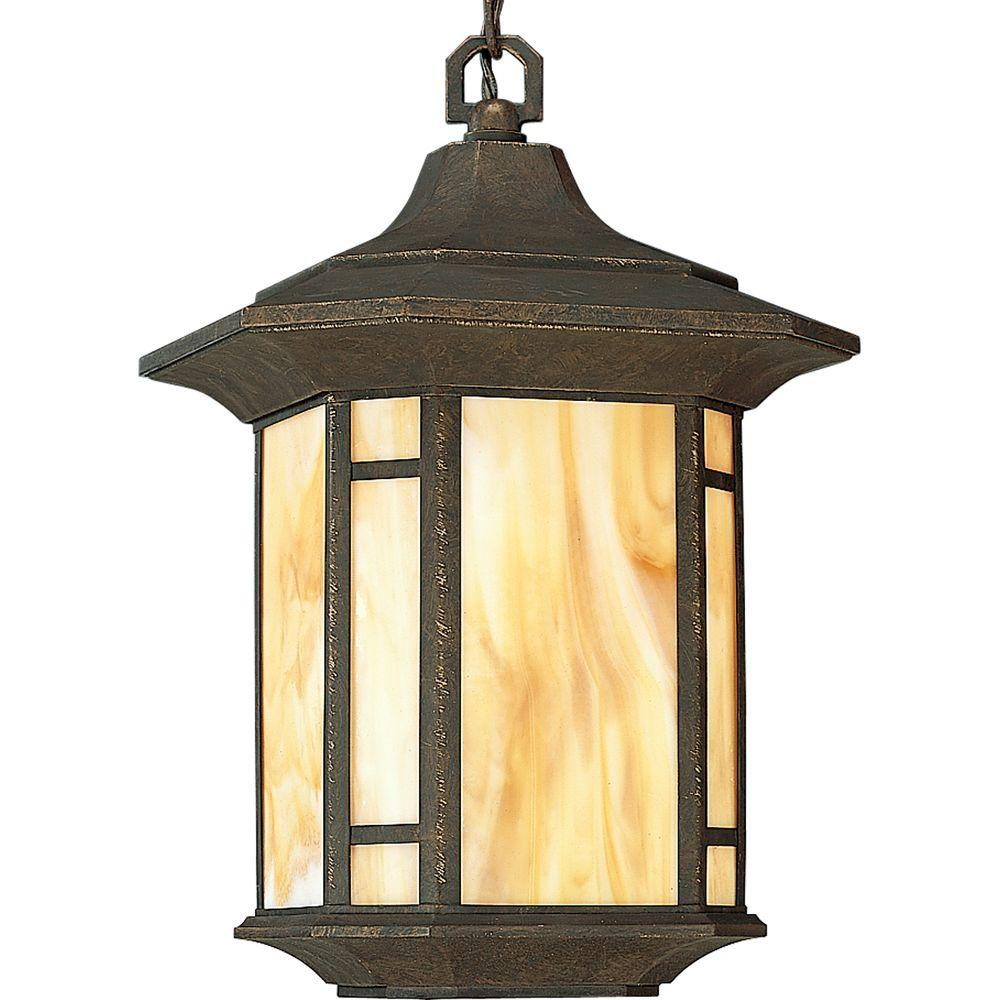 Progress Lighting Arts And Crafts Collection Weathered Bronze Outdoor Hanging Lantern P5528 46 Outdoor Pendant Lighting Outdoor Hanging Lanterns Outdoor Hanging Lights