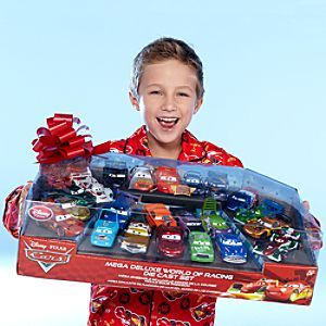 Disney Cars World of Racing Die Cast Set... Would be great to have ...