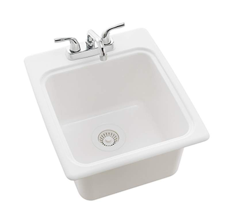 00115 View The Swanstone Ssus S 17 1 4 Single Basin Drop In