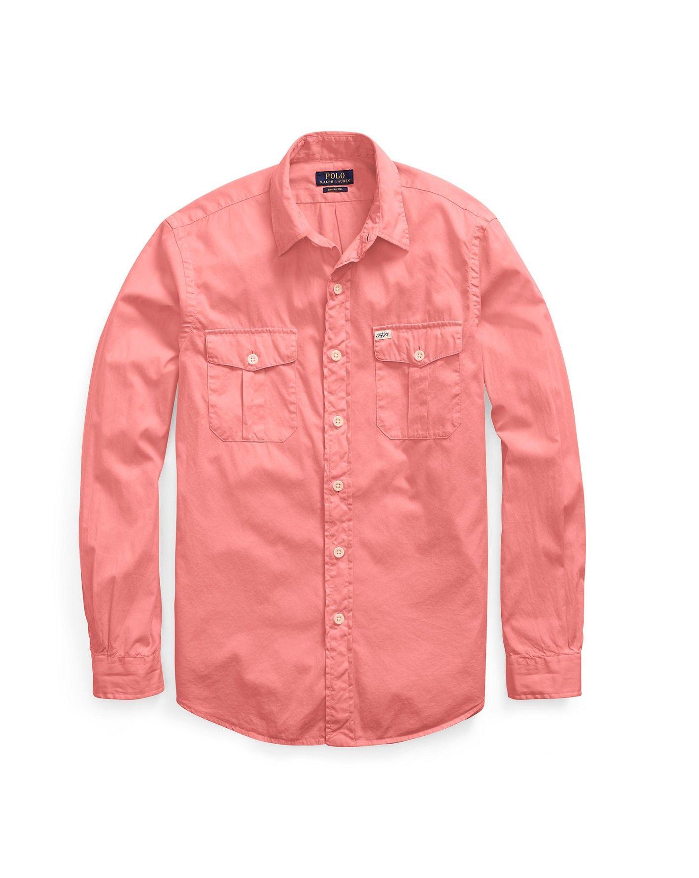 8372325e3 POLO RALPH LAUREN Standard Fit Beach Twill Shirt. #poloralphlauren #cloth #