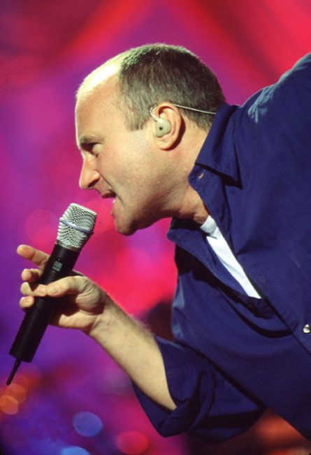 Phil Collins in concert.... would love!