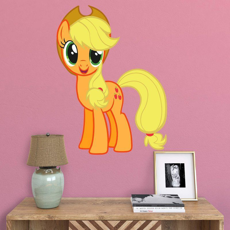 fathead my little pony applejack junior wall decal - 15-17138