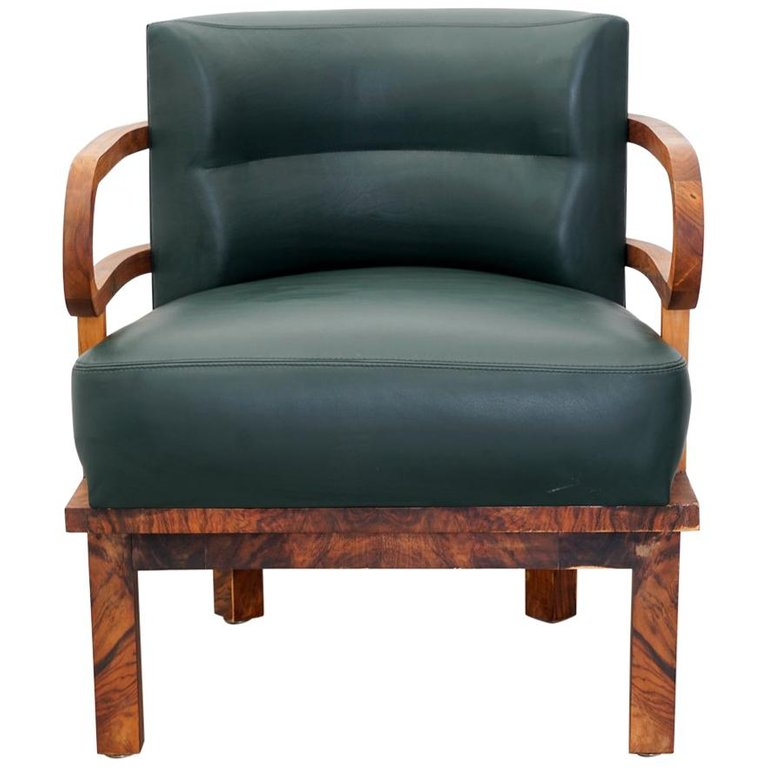 Incredible 1Stdibs Leather Bentwood Lounge 1920 Art Deco German Machost Co Dining Chair Design Ideas Machostcouk