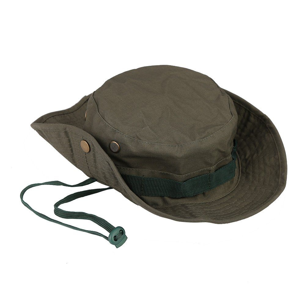 d4b05ac7c0f Pellor Boonie Bucket Hat Military Fishing Camping Hunting Wide Brim Bucket  Men Outdoor Sun-shading