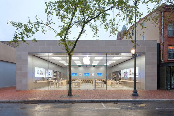 Apple Retail Store New Haven Commercial Architecture Architecture Apple Store