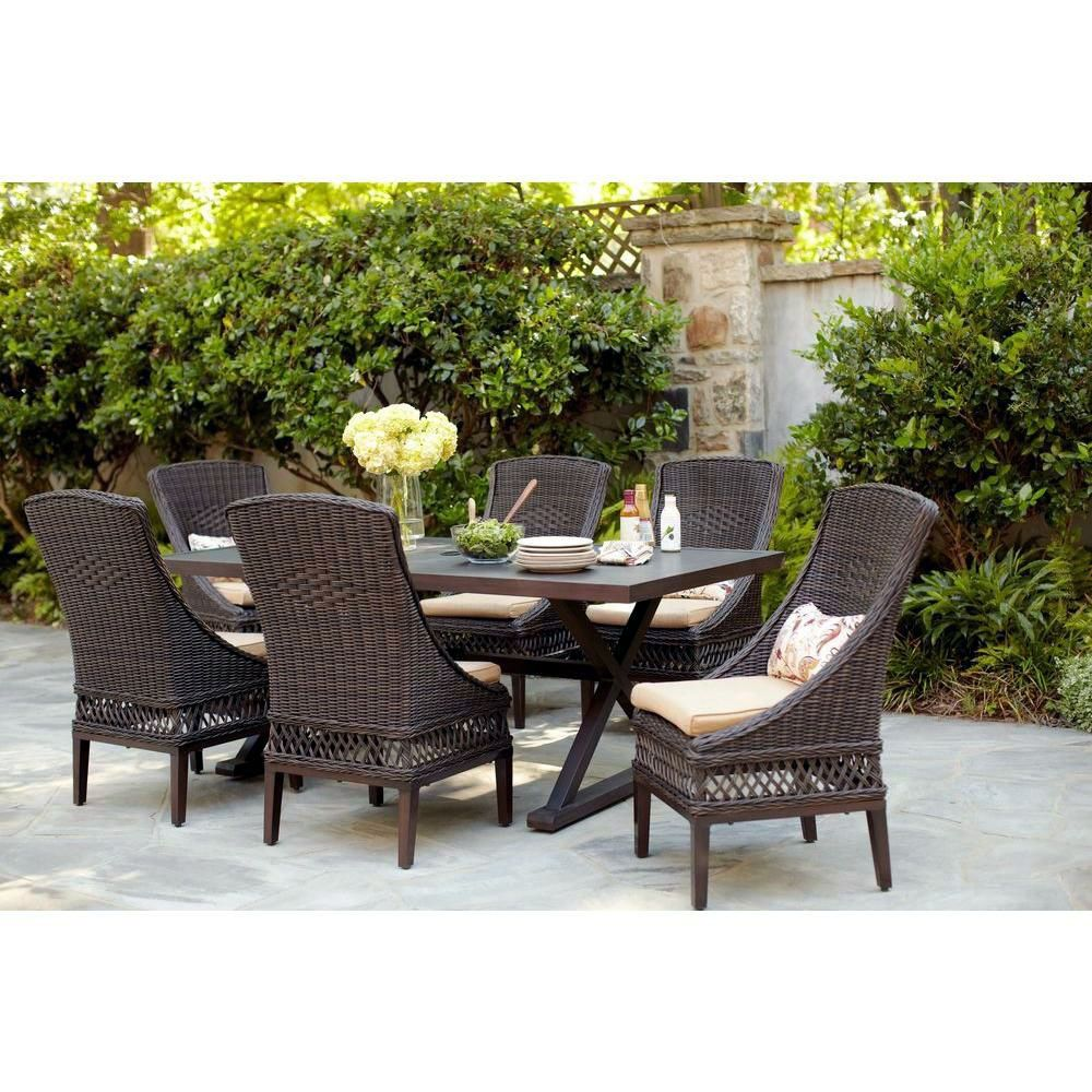Repurposed Exterior Furnishings Projects To Smarten Up Your Space Outdoor Dining Furniture Patio Seating Sets Brown Wicker Patio Furniture