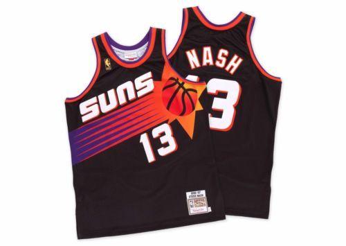 4e61716658d5 Mitchell-Ness-Steve-Nash-13-1996-97-Season-Authentic-NBA-Jersey-Phoenix-Suns