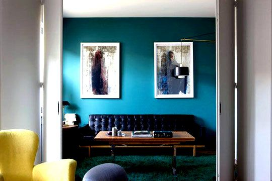 1000 images about bleu on pinterest colors wall colors and cuisine - Salon Bleu Vintage