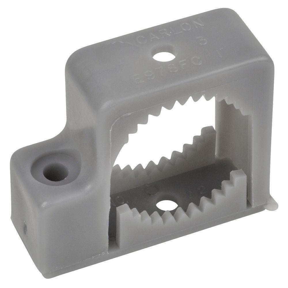 Carlon 1 In Pvc Single Mount Conduit Support Strap Case Of 10 E978fcr Conduit Box Pvc Conduit Electrical Fittings