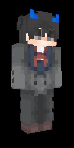 Hiro Darling In The Franxx Skins Para Minecraft Skins Manicraft Skin De Minecraft