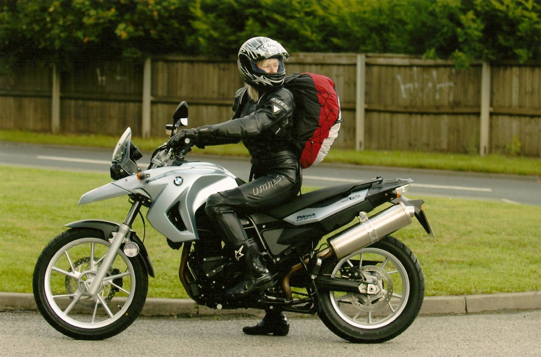 ready to ride to mt blanc on my bmw gs 650 with my ozone lightweight paraglider on my back in. Black Bedroom Furniture Sets. Home Design Ideas