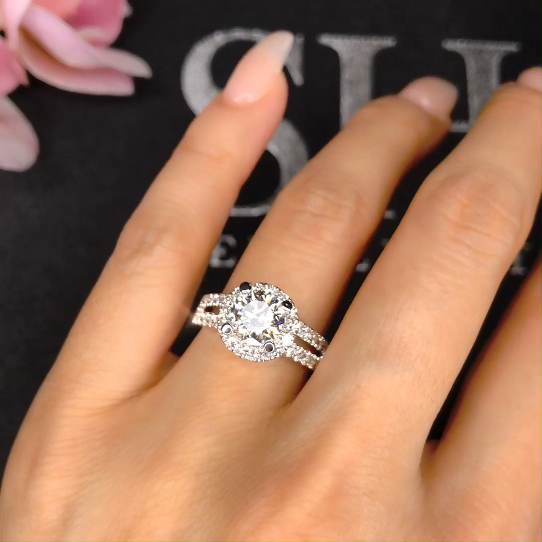 Efficient Financed How To Choose Engagement Rings Find Out Here Halo Style Engagement Rings Diamond Wedding Bands Unique Engagement Rings