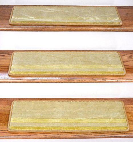 Best Dean Premium New Zealand Wool Non Slip Carpet Stair Treads 400 x 300