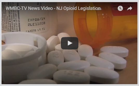 Nearly every New Jersey resident knows of someone or someone's family member or relative afflicted by opioid addiction. The root cause of this epidemic is overprescribing by physicians. My legislation, S2703, will require that physicians follow guidelines established by the Center for Disease Control. It's supported by Physicians for Responsible Opioid Prescribing.