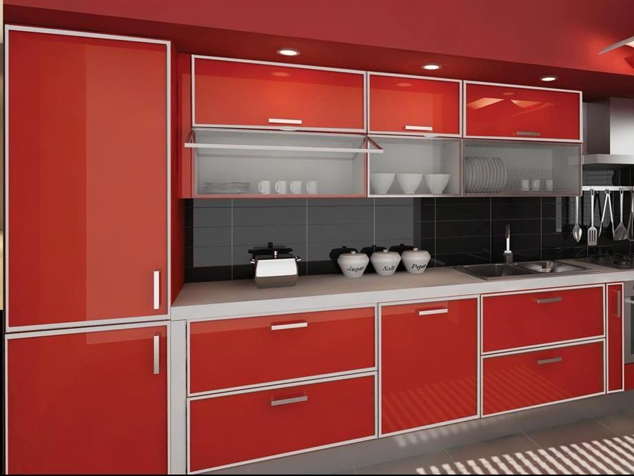 aluminum kitchen cabinets grill aluminium cupboards module types in 2019