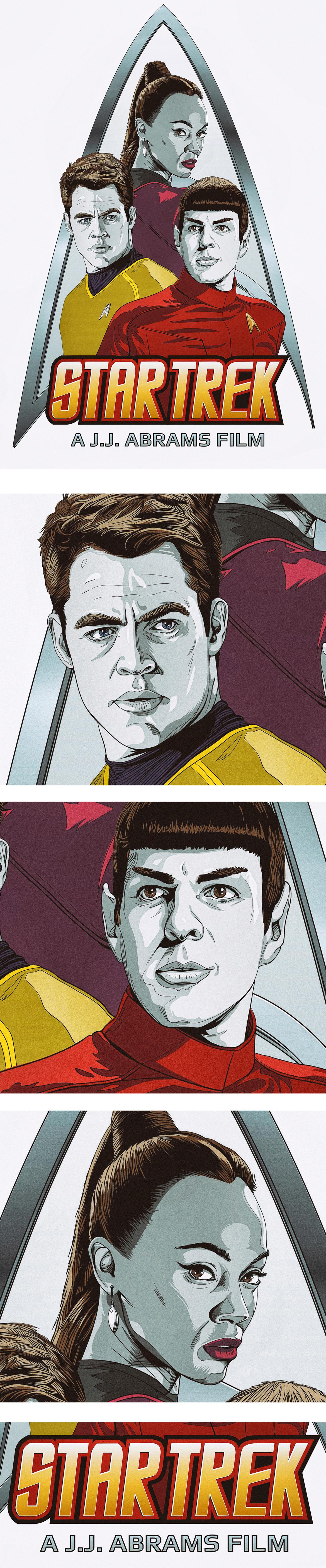 Star Trek on Behance