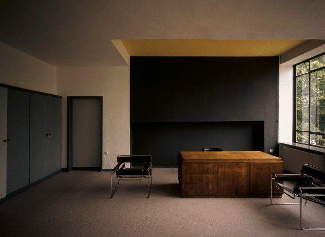 Walter Gropius - Bauhaus Directoru0027s Office Casas modulares
