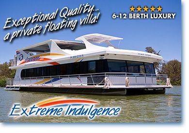 Extreme Houseboats   luxury now launched extreme indulgence is the newest luxury houseboat ...