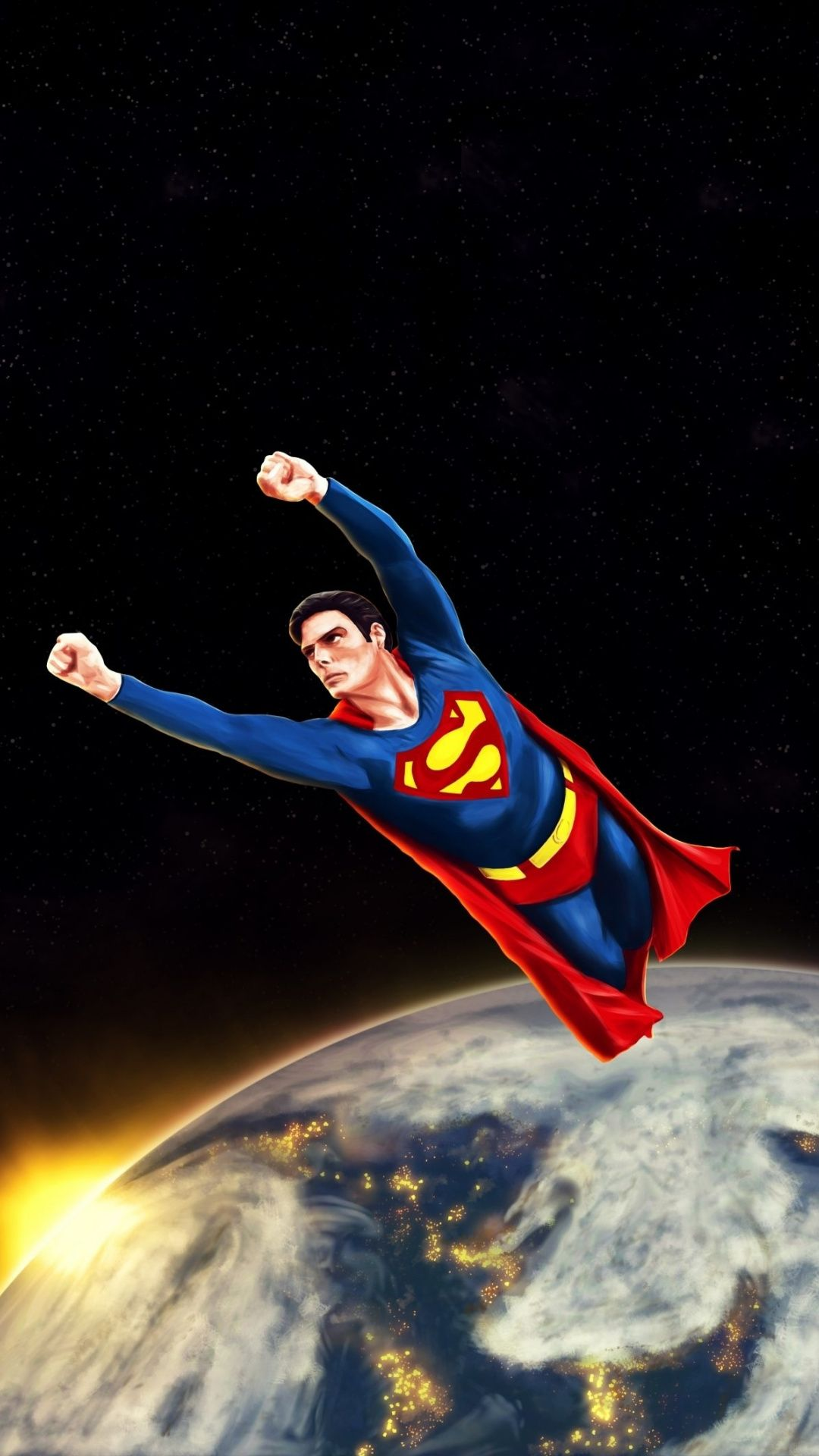 Classic poster, Superman, movie, art Wallpaper Super