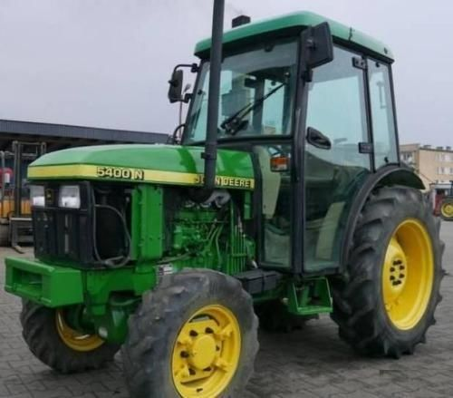 John Deere 5400n And 5500n Tractors All Inclusive