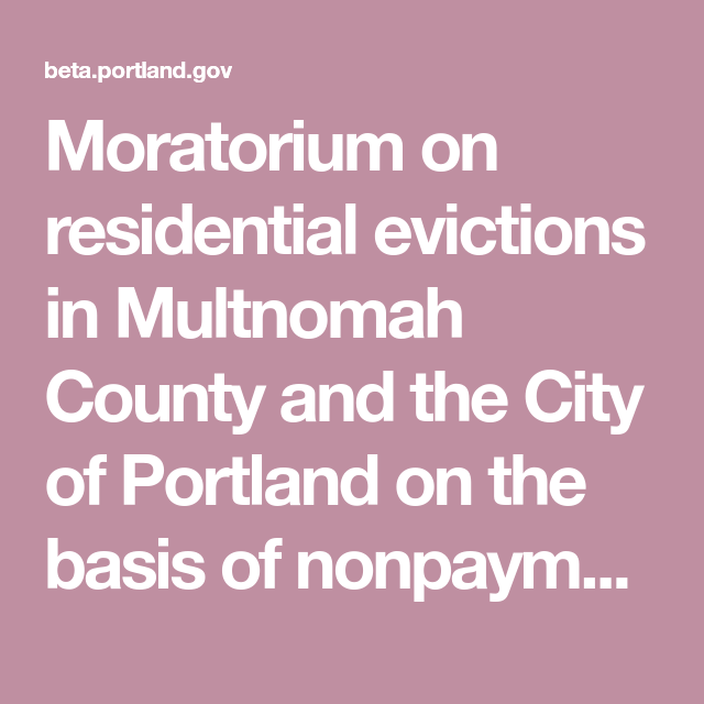 Which States Have Eviction Moratoriums