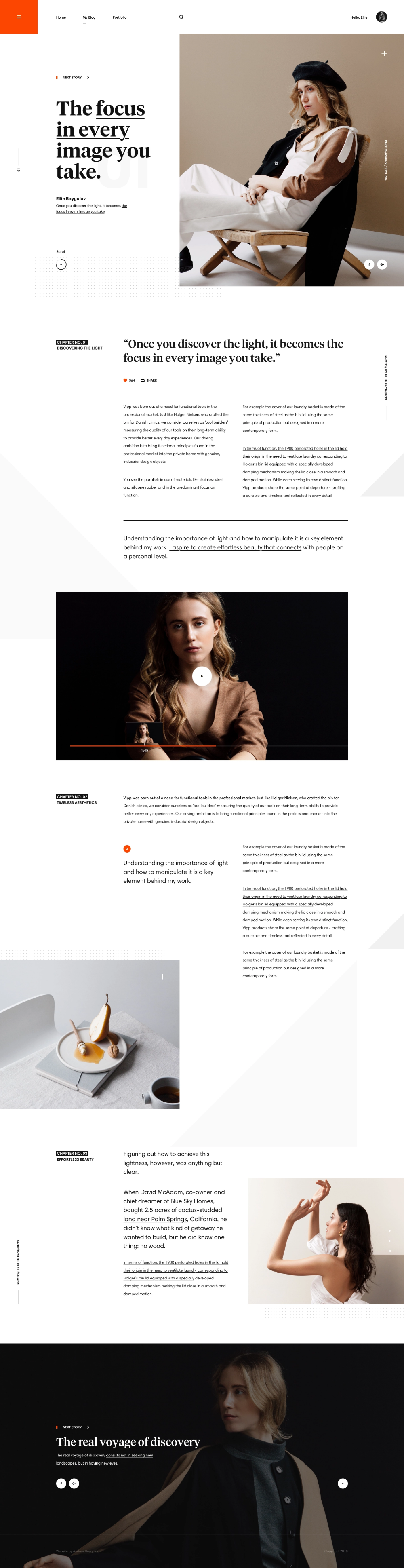 Pin By Young On Just Losing Time Simple Web Design News Web Design Website Design Inspiration