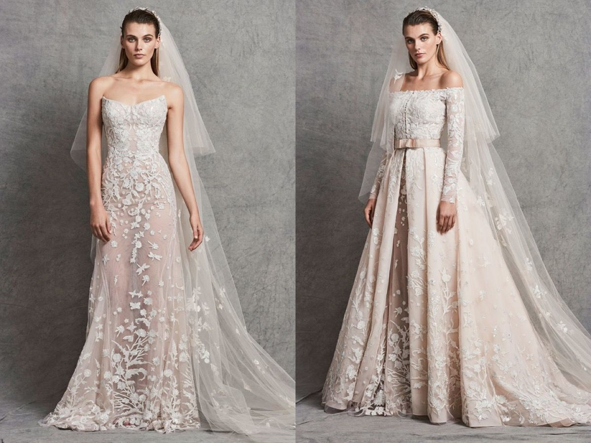 Zuhair Murad This Classic Mermaid Wedding Dress Can Pair With A Princess Style Jacket Wedding Dresses Zuhair Murad Wedding Dresses Gowns [ jpg ]
