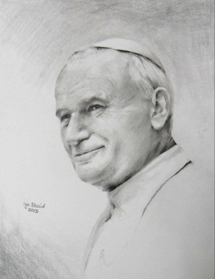 Znalezione Obrazy Dla Zapytania Jan Pawel 2 Rysunek Male Sketch Art Male