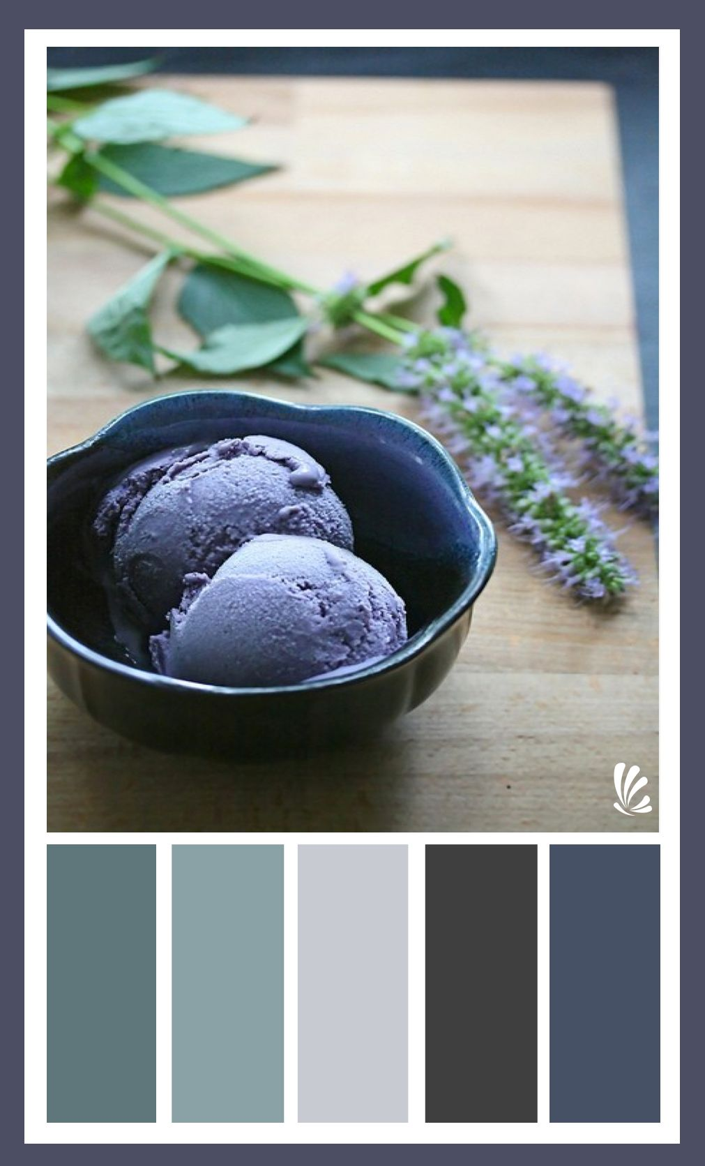 Tolle Desserts Lavender Palette Love Blues With Black Gray Tones Home Is