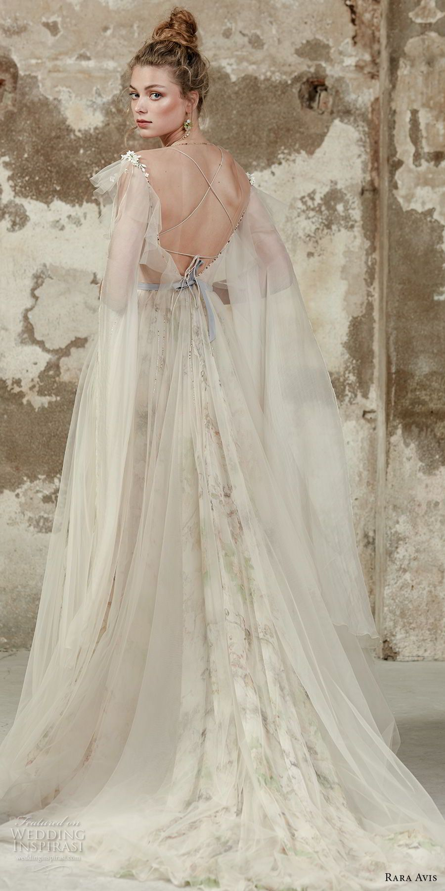 Champagne colored wedding dress  Rara Avis  Wedding Dresses u Floral Paradise Bridal Collection