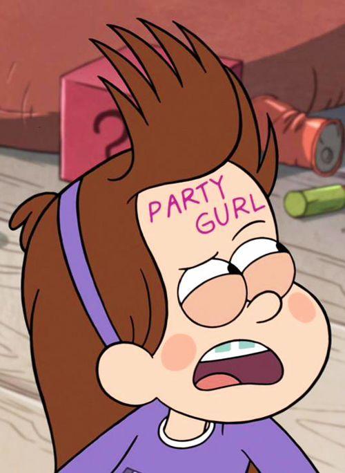 Gravity Falls: Mabel #gravityanimation