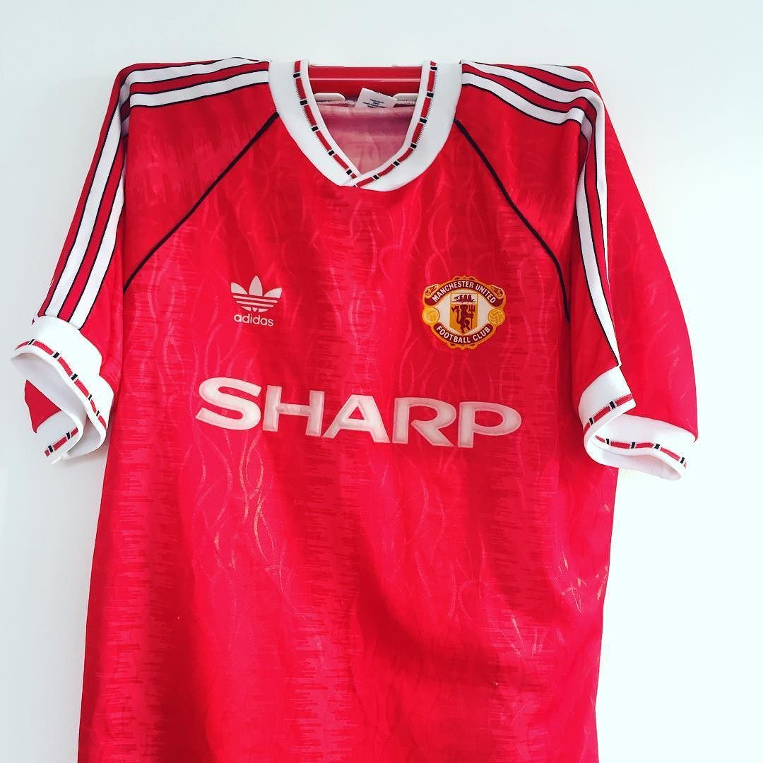 8ce4e95f 1990-92 Manchester United home shirt L - 20% off when you enter ...