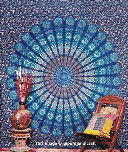 Handicrunch Mandala Tapestry