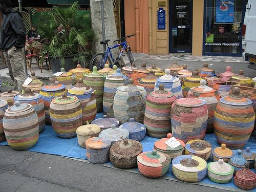 Moroccan baskets by pet_aud, via Flickr