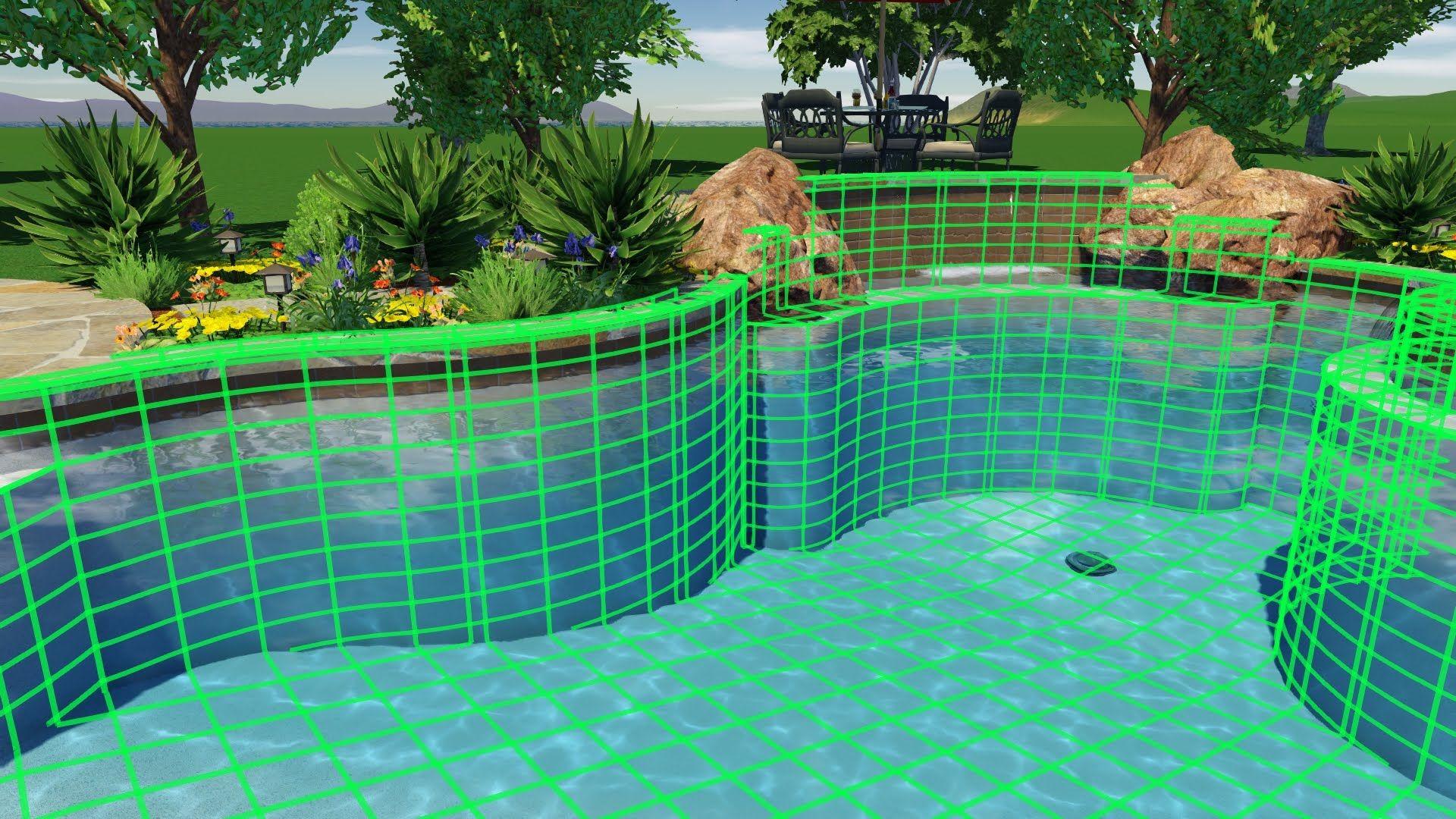 Structure Studios Update 2 210 Video Pool Designs Swimming Pool
