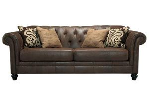 SIMPLY HOME by Lindy's Furniture 828-855-3711 | 828-855-3712 Located @ Hickory Furniture Mart Level 4, Suite 470 on Hwy 70, Hickory NC  Longdon Place Espresso Sofa, /category/living-room/longdon-place-espresso-sofa-1.html