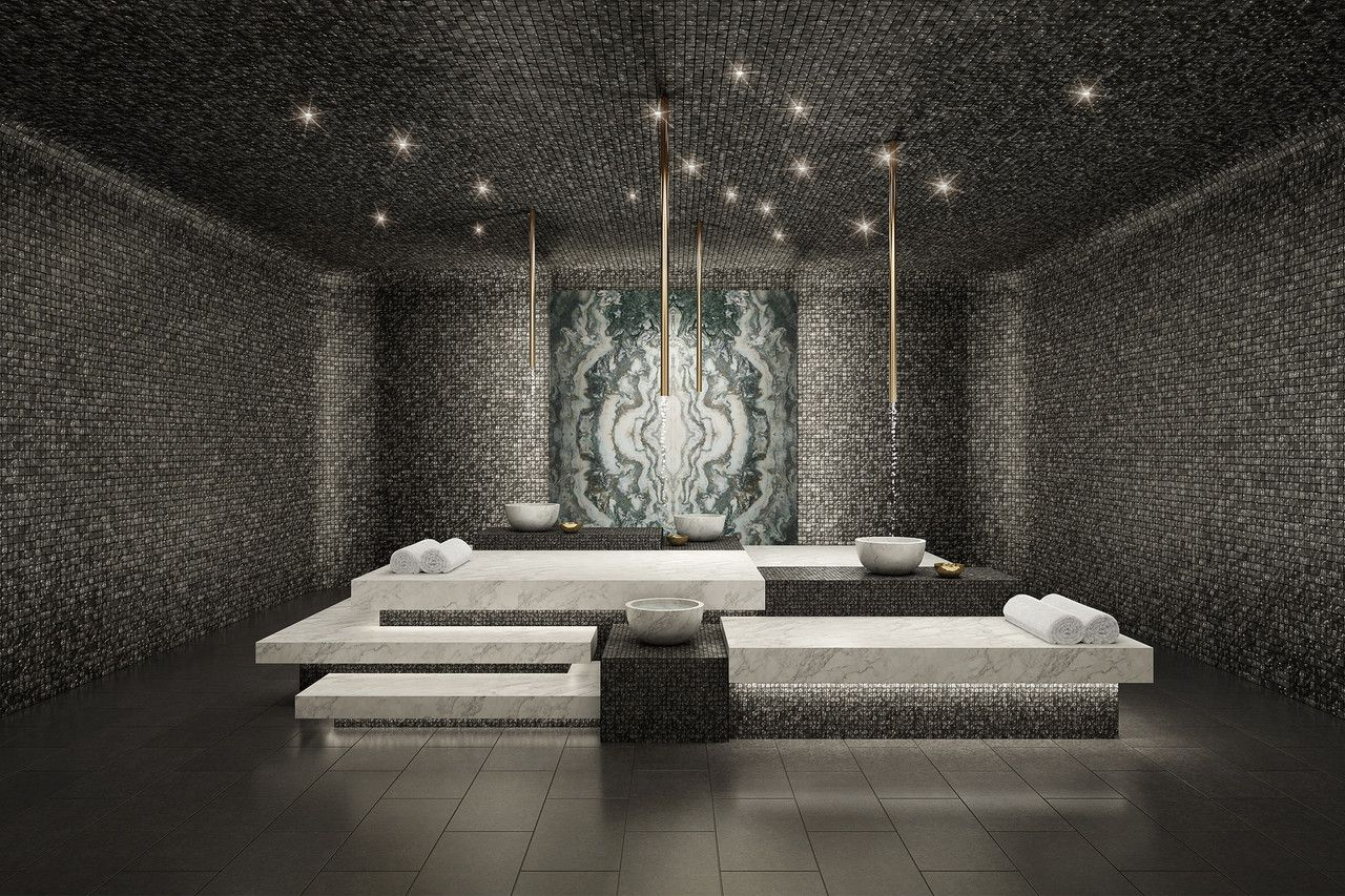 PublicBathhouse Design Comes to Luxury Homes is part of Luxury home NYC - Realestate developers and homeowners find inspiration from the relaxing vibe of Turkish hammams for residential bathrooms and spas