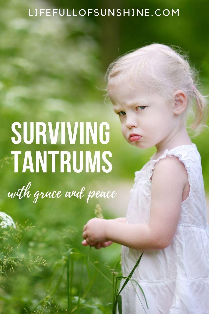 Surviving Tantrums (With images) Tantrums toddler