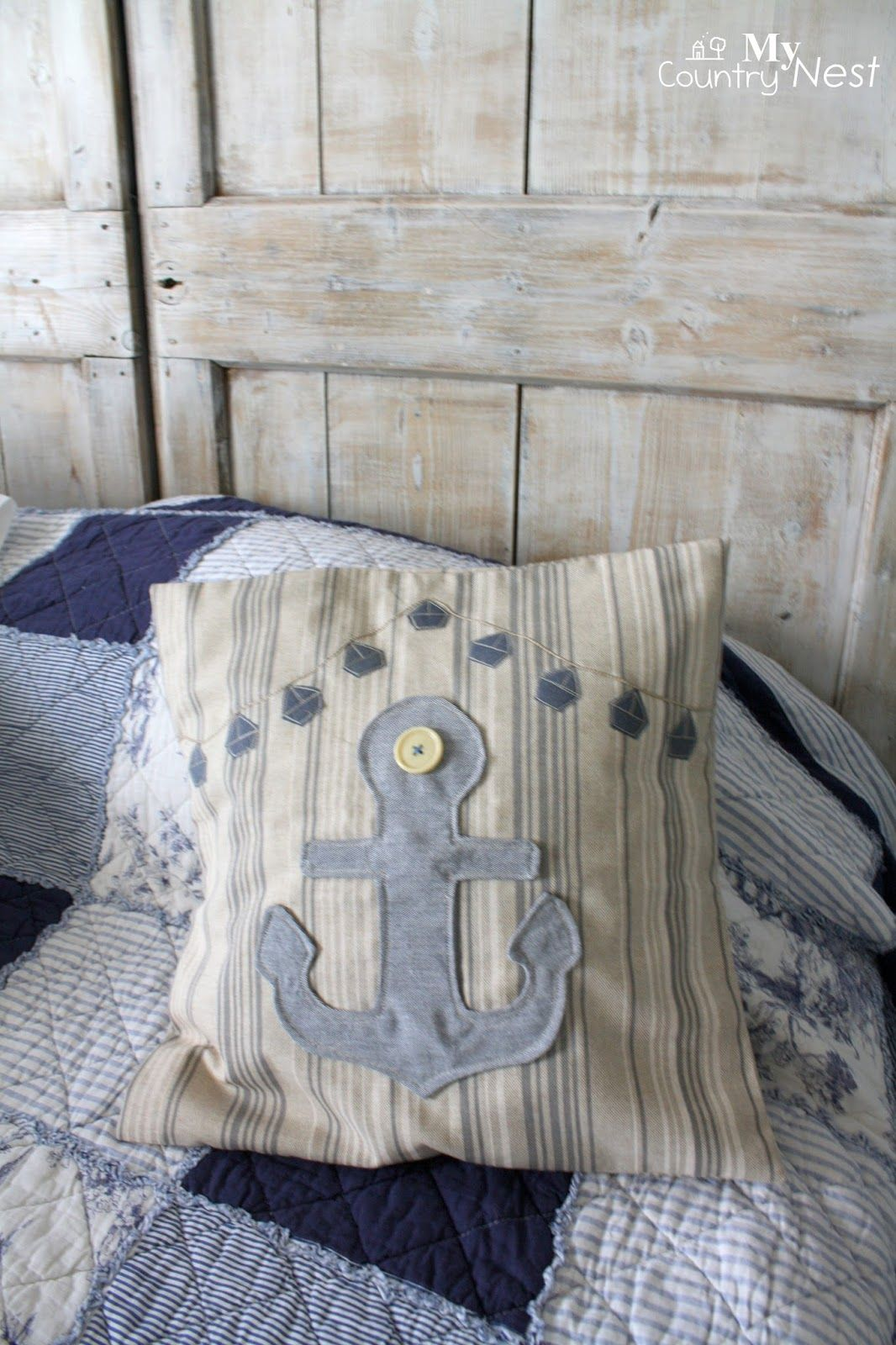 My Country Nest Coastal Style For The Blogger S Collection Bedroom
