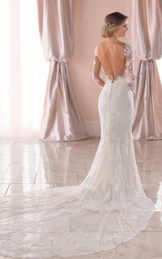 14++ Open back wedding dress ideas