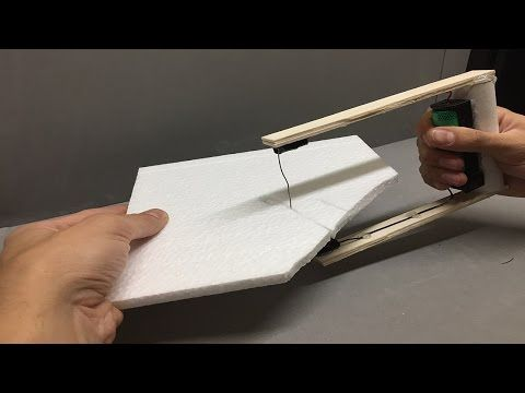 Alambre poliestireno espuma cortador herramienta de corte artesanía hobby DIY