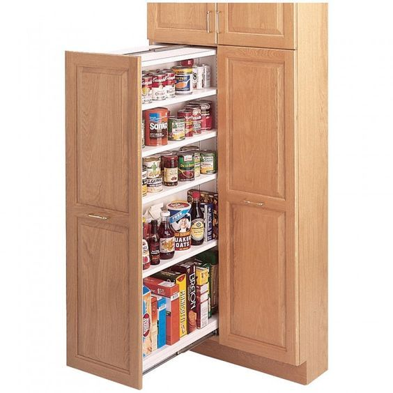Latest Designs Pantry Cupboard: Heavy Duty Pantry Slide System