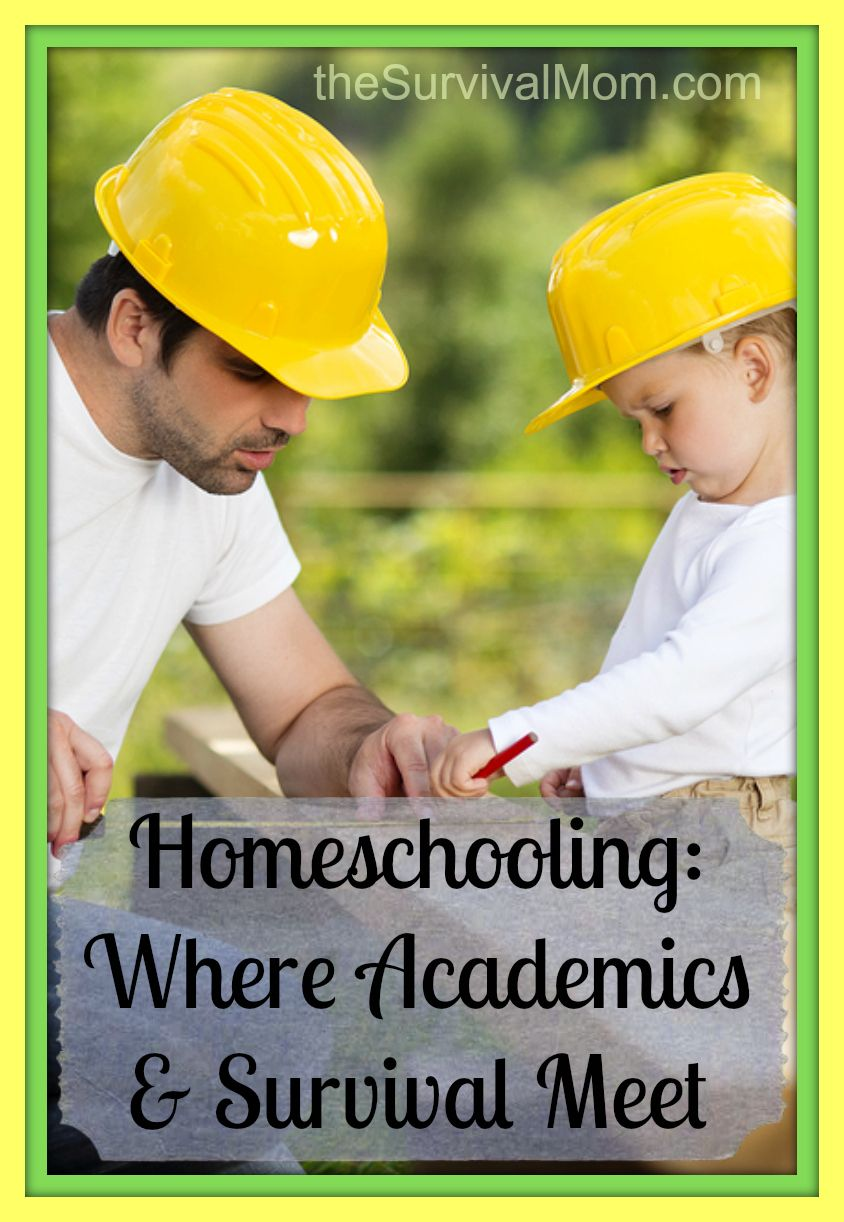 If you want your homeschooled child to become more self-reliant and learn more old-school skills, this post has some great ideas for you! - The Survival Mom
