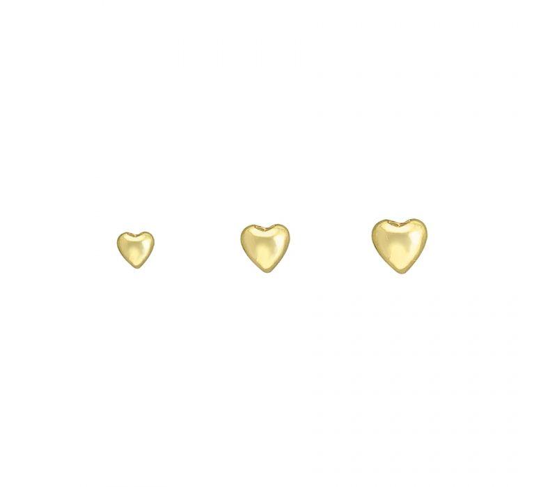 Puffy heart, BVLA, ear bling