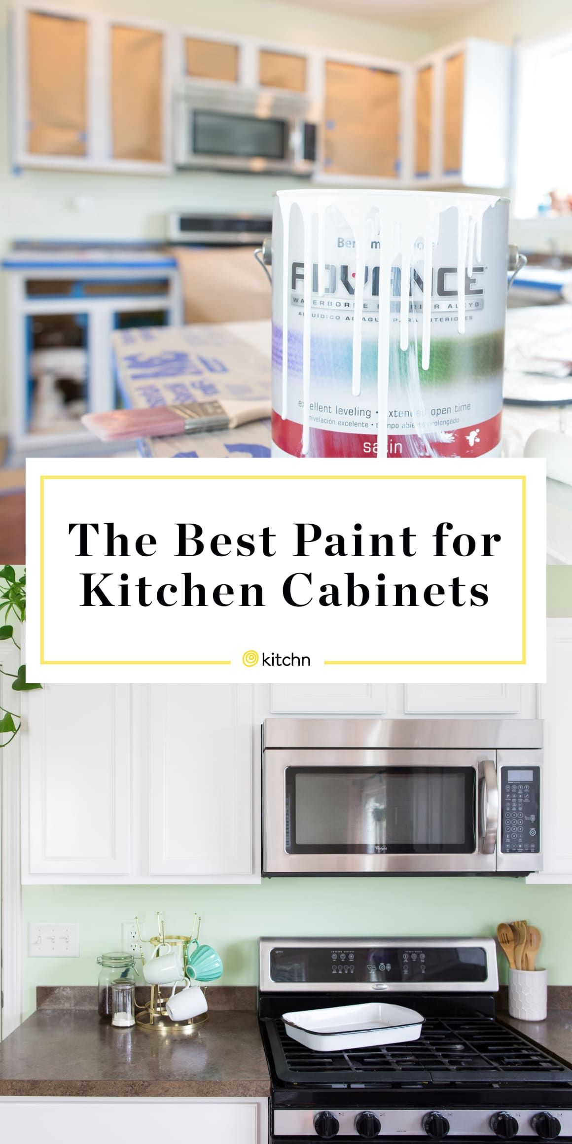 the best kind of paint for painting kitchen cabinets kitchen rh pinterest com