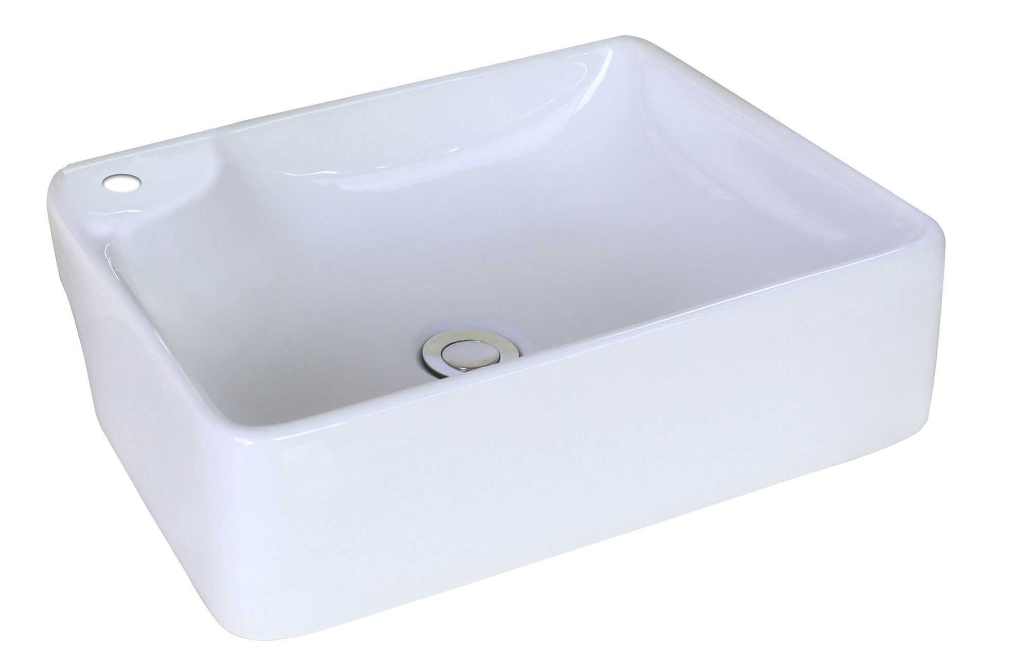 Above Counter Rectangle Vessel Bathroom Sink Products