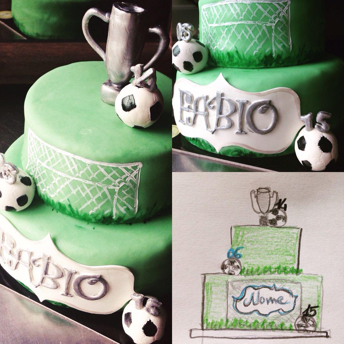 #footballcake #cresima